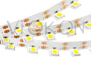 Лента RV 2-5000 12V Orange 2X (5060, 300LED, 0-90)