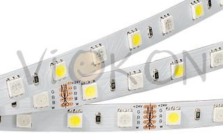 Лента RT6-5050-60 24V RGB-Warm 2x (300 LED)