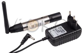 Усилитель CT-DMX-2.4G (5V, Wireless, XLR Male)