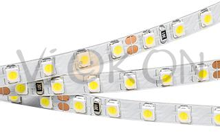 Лента RT 2-5000 24V Warm-5mm 2x(3528, 600 LED, LUX