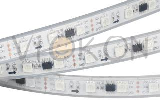 Лента SPI-5000P-AM 12V RGB (5060, 300 LED x3,1804)