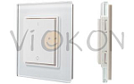Панель Knob SR-2833K2-RF-UP White (3V, DIM,2 зоны)